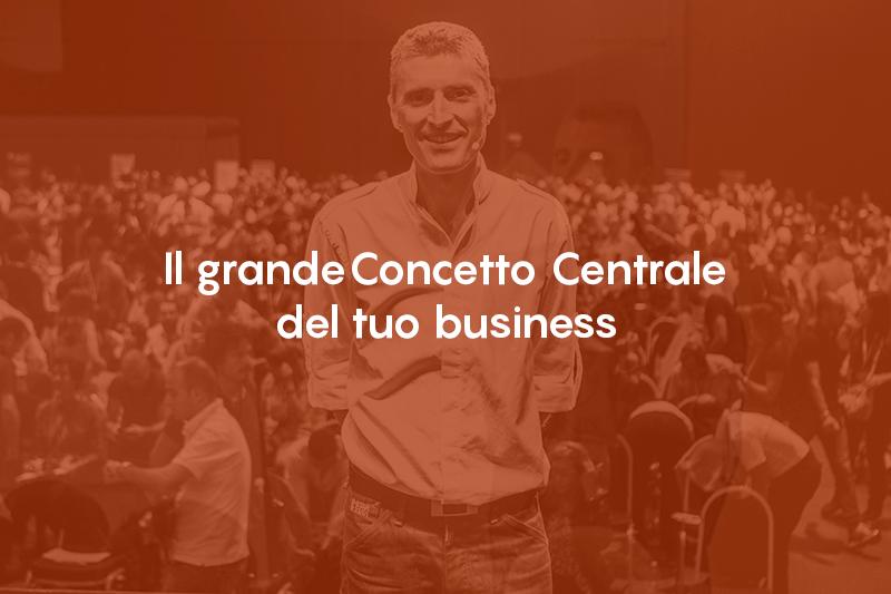 Il Grande Concetto Centrale del tuo Business